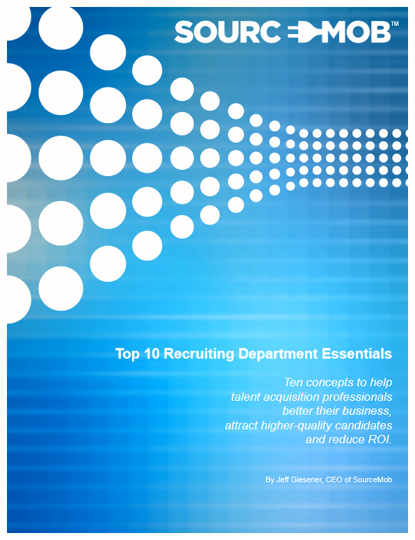 Top 10 Recruiting Department Essentials - Screenshot